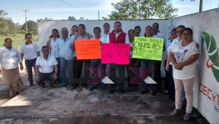 Cecytev Comunicado Huelga Uxpanapa