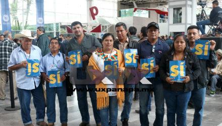 Delegados del Pan Uxpanapa Asamblea 2016