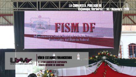 Vídeo Estados Financieros Tercer Informe Uxpanapa Veracruz
